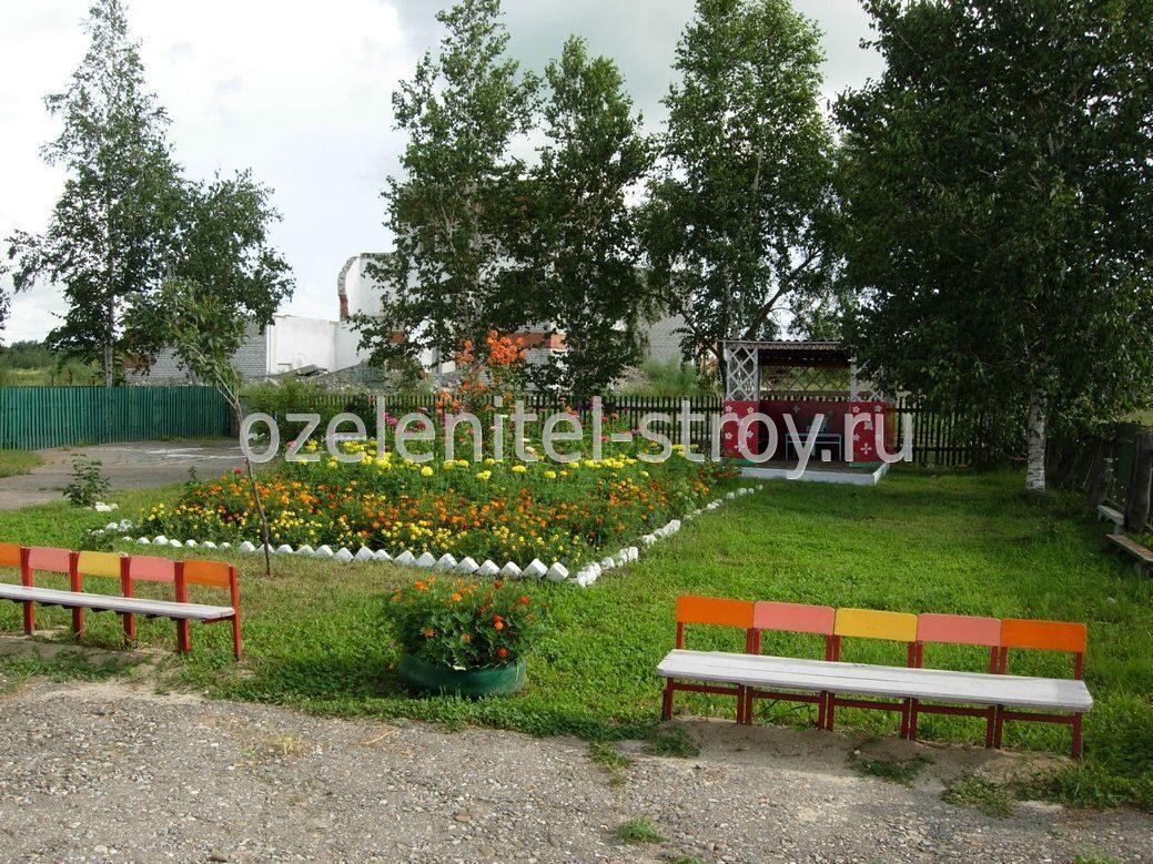 Дизайн школьного двора фото