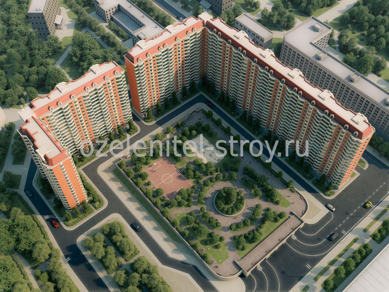 Панельные дома новостройки 5 фотография