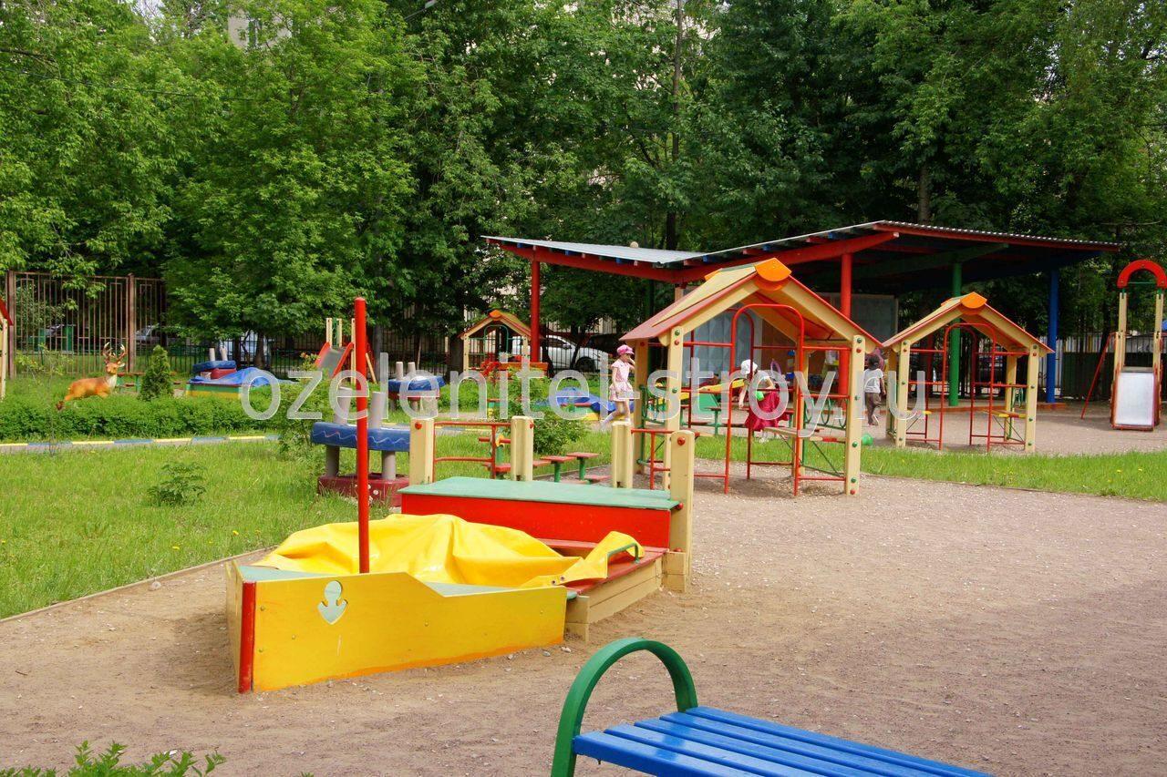 Благоустраиваем площадку в детском саду своими руками