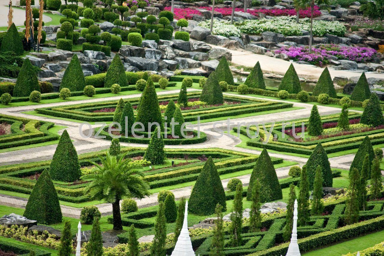Парковый дизайн фото