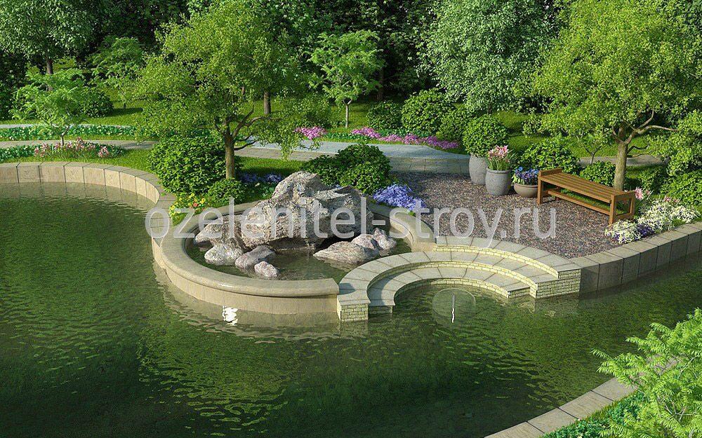 Дизайн ландшафтный парк