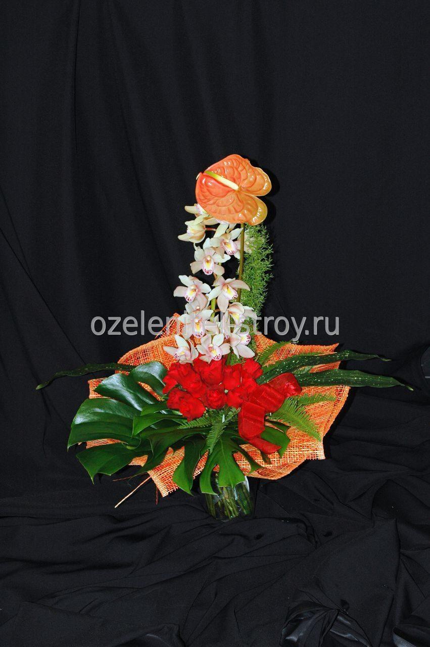Цветы букеты для мужчины фото
