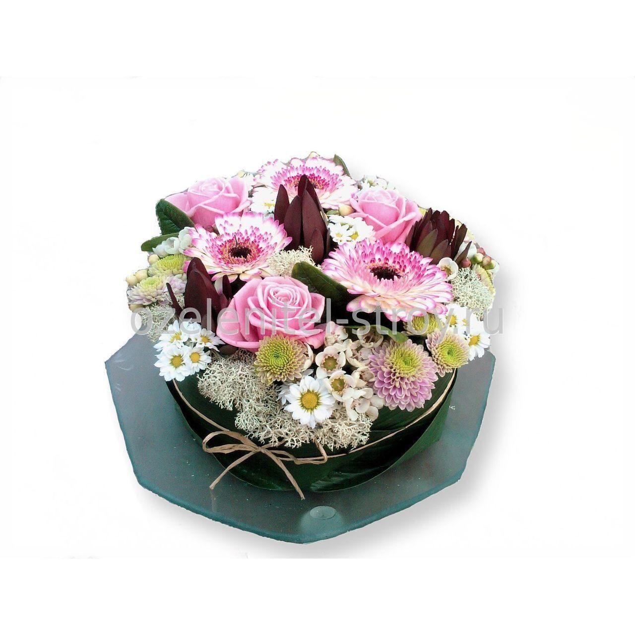 Губка флористическая OASIS - «Весна - пора цветов, ароматов 13